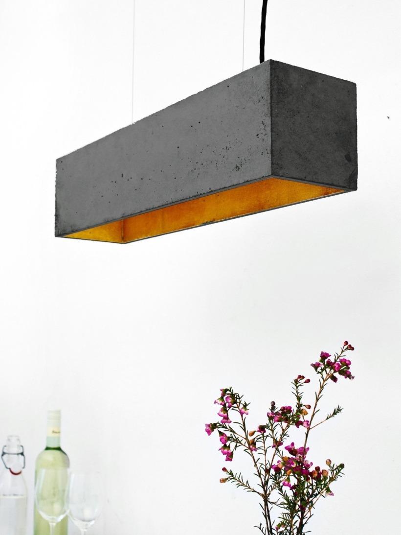 [B4]dark Pendelleuchte rechteckig