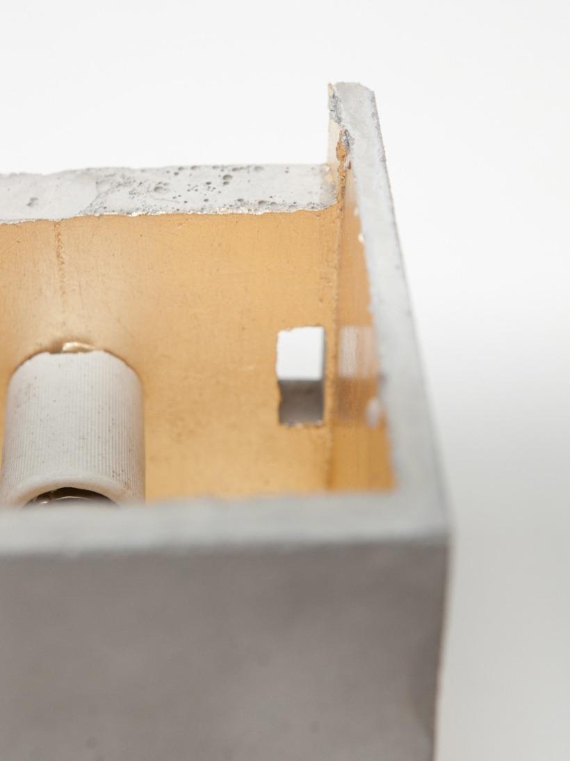 [B3] Wandlampe quadratisch
