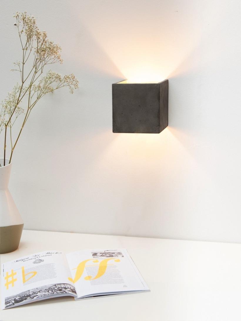 [B3]dark Wandlampe quadratisch
