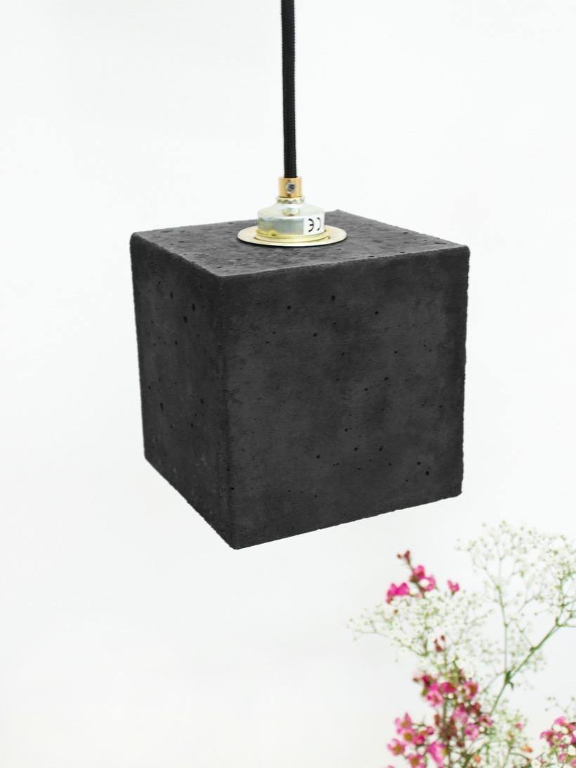 [B1]dark Hängelampe quadratisch