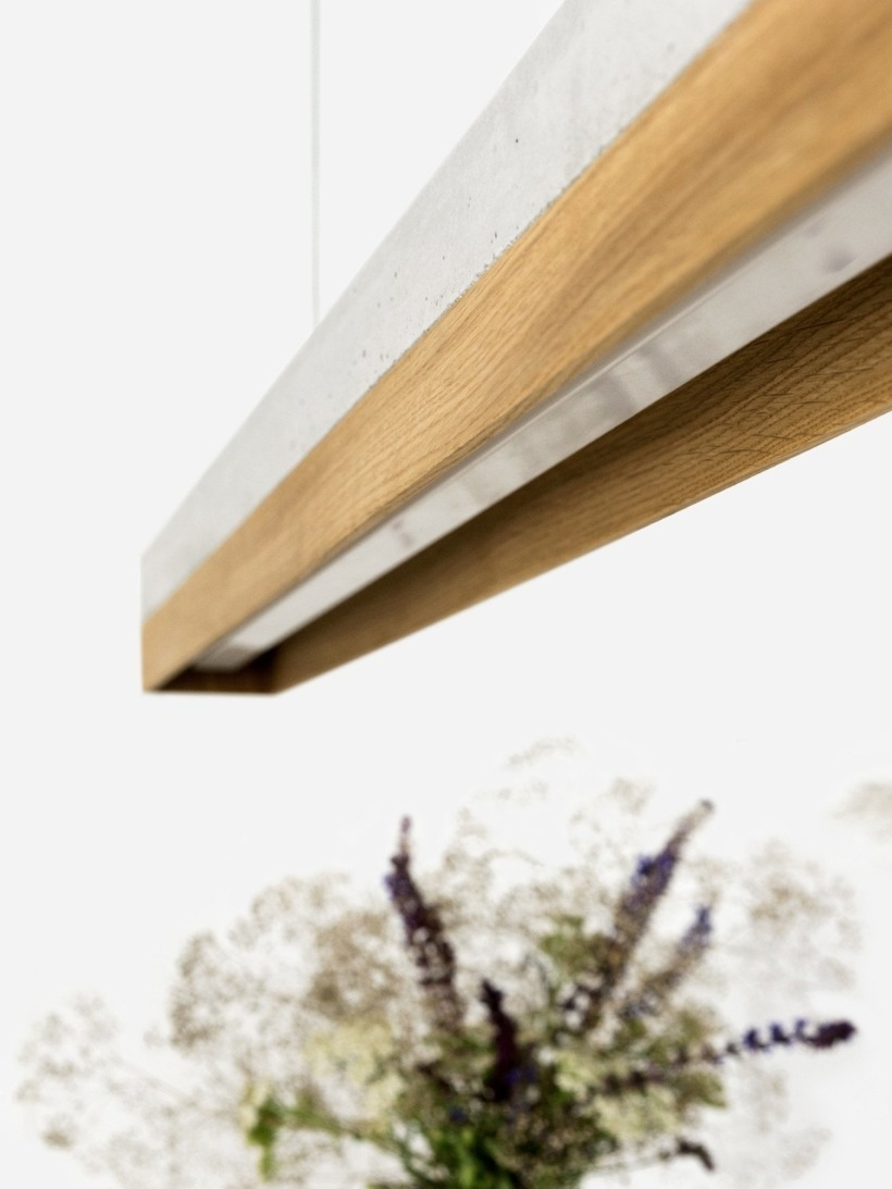 [C1]oak Pendelleuchte Eichenholz