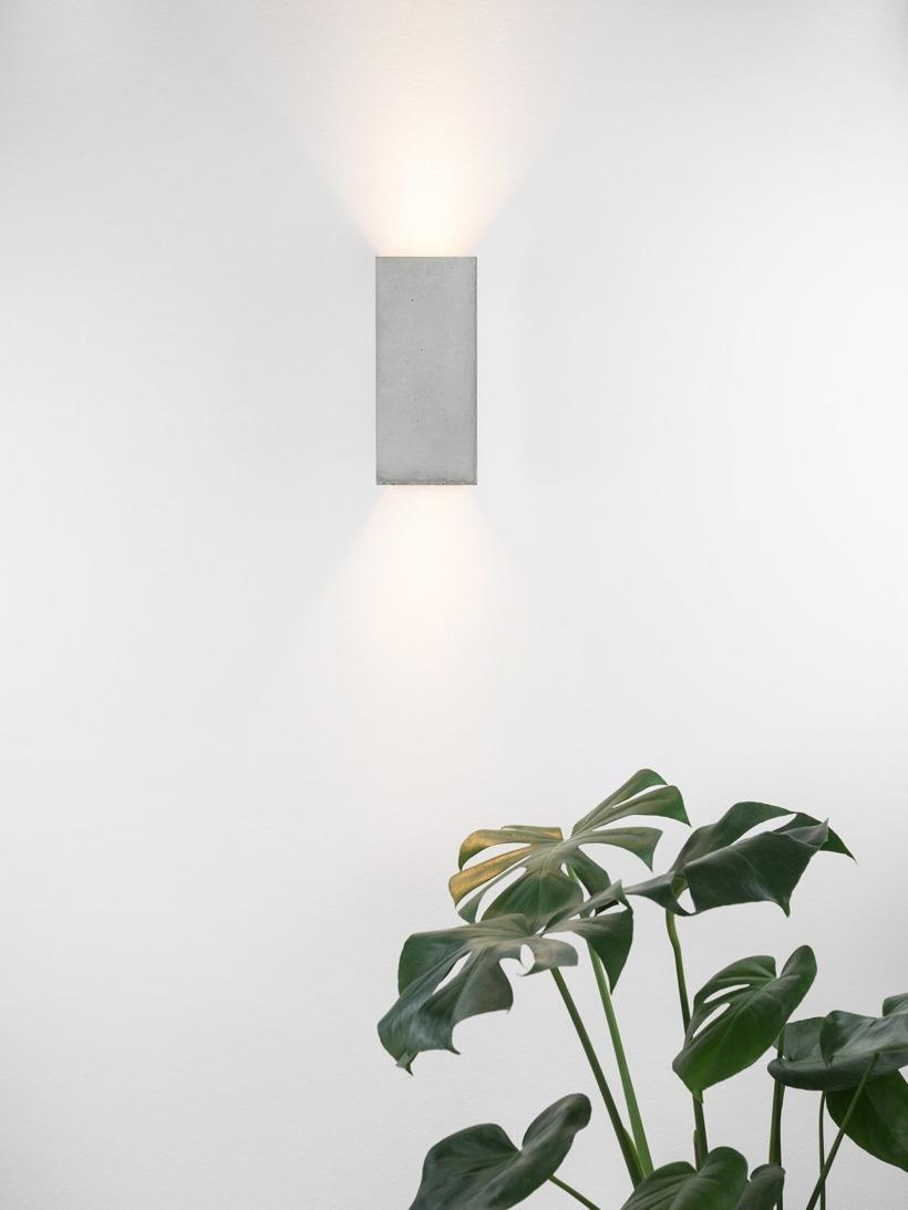 [B8] Wandlampe rechteckig
