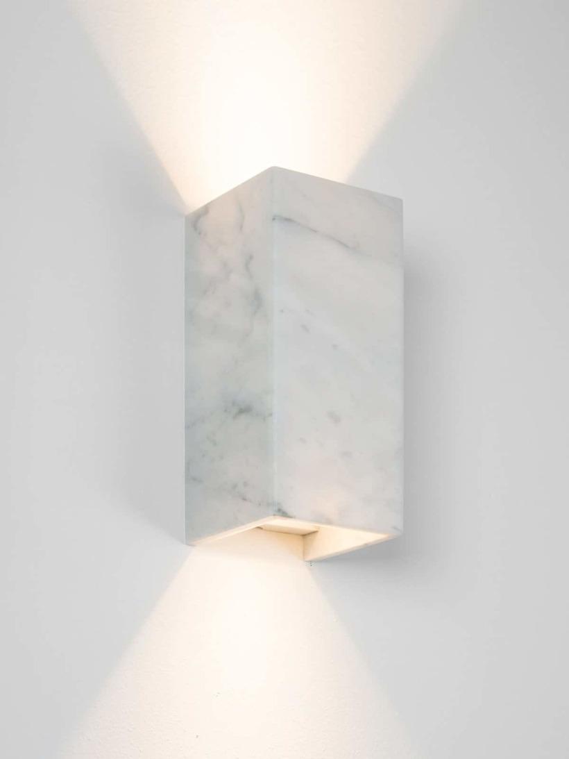 [B8]carrara Wandlampe Marmor