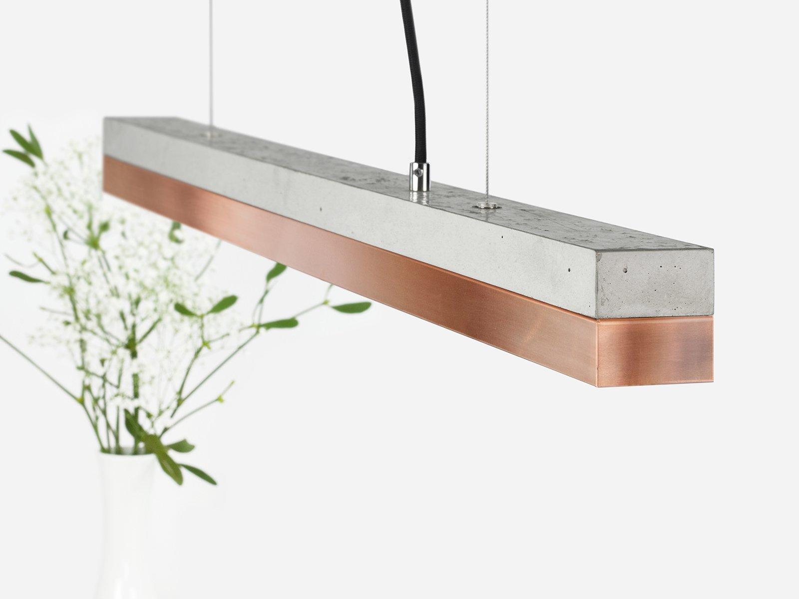 [C2]copper Pendant light small