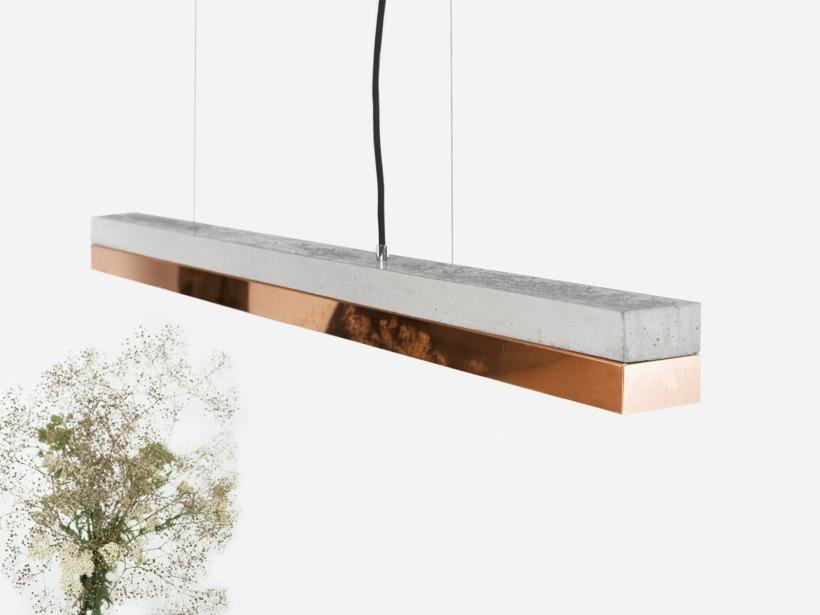 [C1]copper Pendelleuchte Kupfer